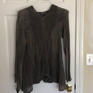 Olivia Colored Modern Yeezy Style ZIP Up, Size S